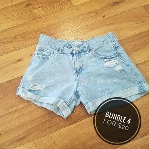 👻Levi's Shorty Shorts, Girls 16 👻